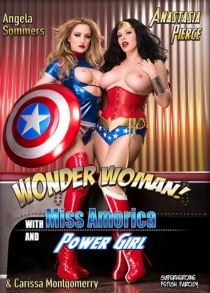 Wonder Woman With Miss America And Power Girl