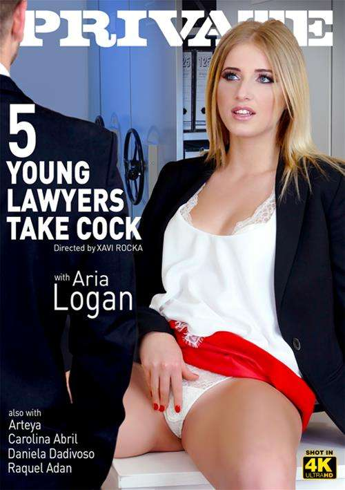 5 Young Lawyers Take Cock