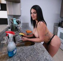 Slamming My Hot Cuban Maid (Cristal Caraballo)