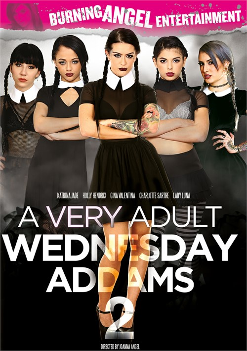 A Very Adult Wednesday Addams 2